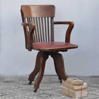 Vintage Swivel Desk Office Chair