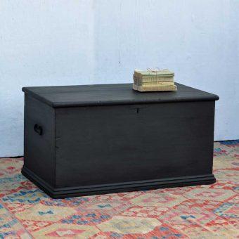 vintage blanket box storage trunk