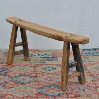 Rustic Long Wooden Bench Windrush