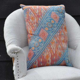 Vintage Kantha Cushion Hannah