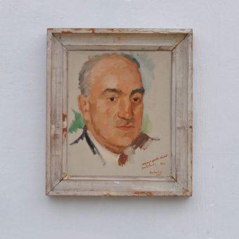 Antique oil painting portrait | Geoffrey