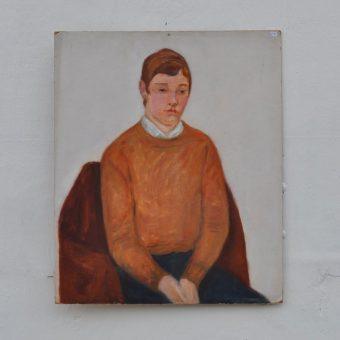 Antique oil painting portrait | Freddy