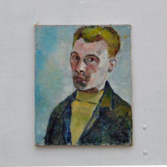 Antique oil painting portrait | Vincent