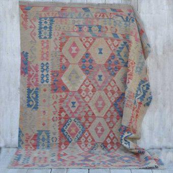 traditional hand woven kilim rug | Aziza