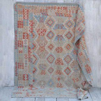 traditional hand woven kilim rug | Ines