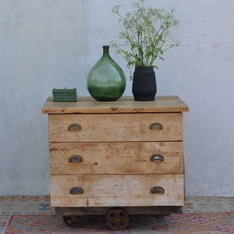 industrial factory cart drawers