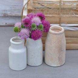 Antique Cream Pot Vase