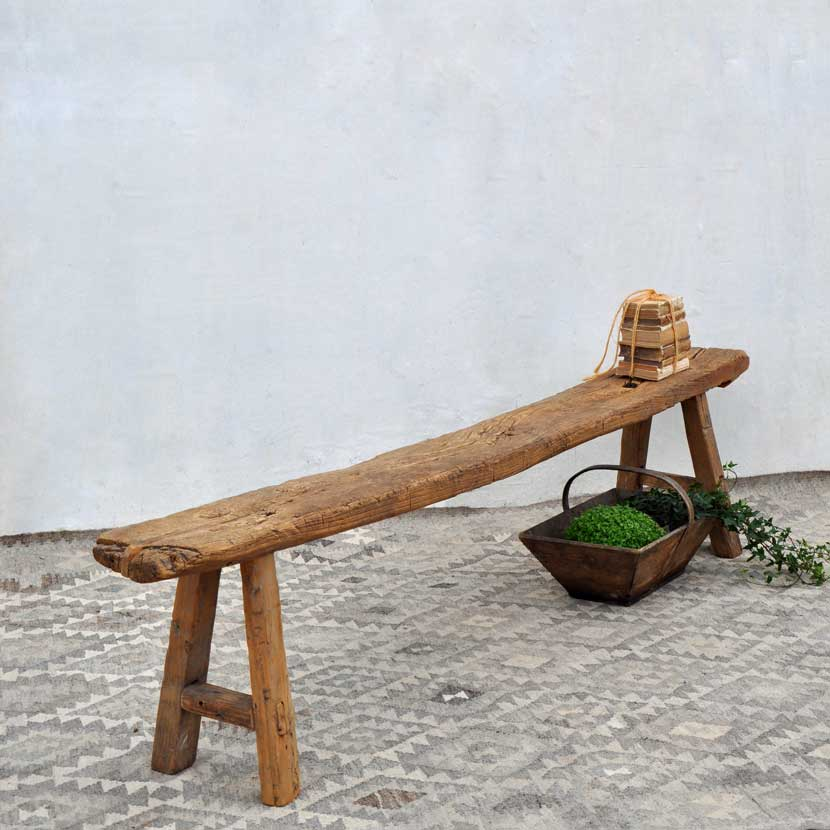 Superb Rustic Old Pine Bench Archives Home Barn Vintage Dailytribune Chair Design For Home Dailytribuneorg
