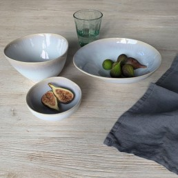 Oyster Glazed Ceramic Crockery Range