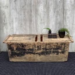 antique wooden chest   trunk