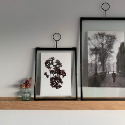 picture frame in antique matte black