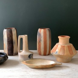 Artisan African clay pottery collection | terracotta