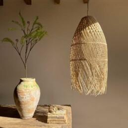 Hand Woven Rattan Lampshade