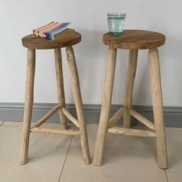 Tall Bar Stool | Solid Wooden