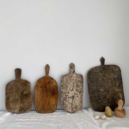 Rustic antique bread boards | Pear shaped