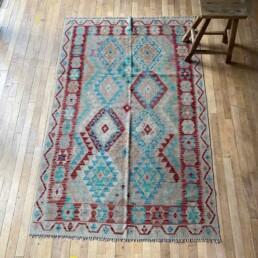 Small Handwoven Kilim rug | Dora 195cm x 125cm