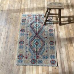 Small Handwoven Kilim rug | Sibelli - 125cm x 80 cm