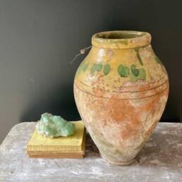 Rare European urn with unique glaze | Sadie