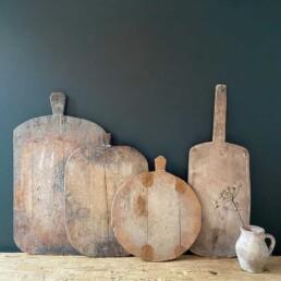 antique rustic breadboard european