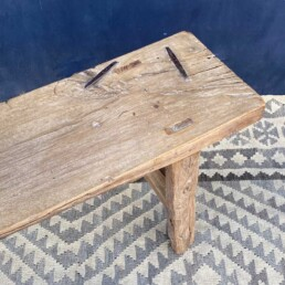 Rustic vintage wooden bench   Yiannis