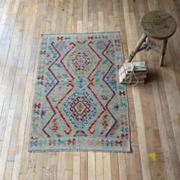 Handwoven Kilim rug | Agnes 118 x 85 cm