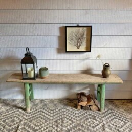 Antique Elm Bench | Verde 175cm