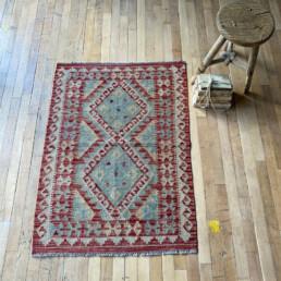 Handwoven Kilim rug | Beatrix 113 x 82 cm