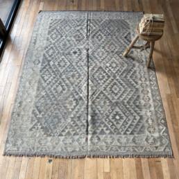 Handwoven Kilim rug | Glynis 204 x 159 cm