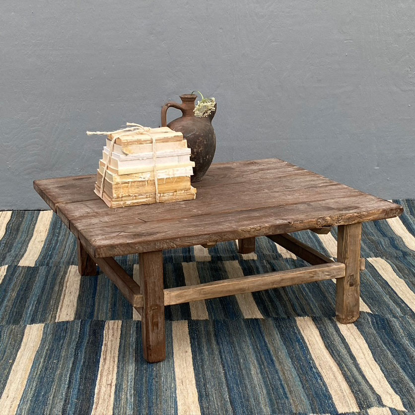 Antique Rustic Coffee Table Saoirse Home Barn Vintage