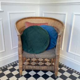 soft velvet scatter cushions