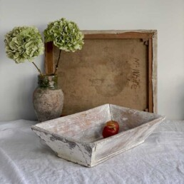 Vintage European Dough Bowl | Luminara