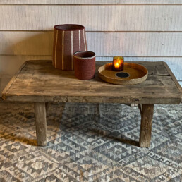 Rustic Elm Coffee Table | Arianne