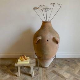 Antique rustic urn | Carys