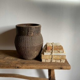 Antique Chinese Woven Basket | Catalina