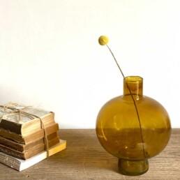 Amber Vase | Round