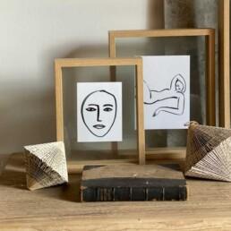 Oak Box frame | Small