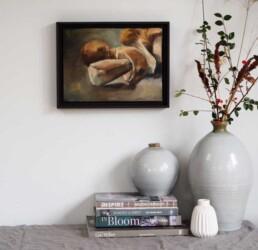 Original Oil Painting by Lizzie Owen| Mushroom