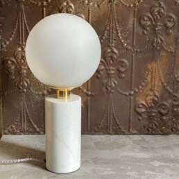 Globe Marble Lamp