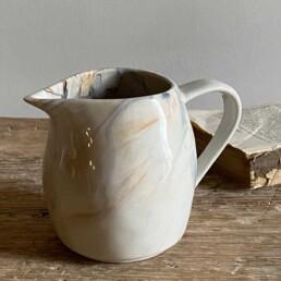 Ceramic Marbled Jug Small