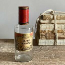 Napoleon III Antique Apothecary Jars - Sulfate