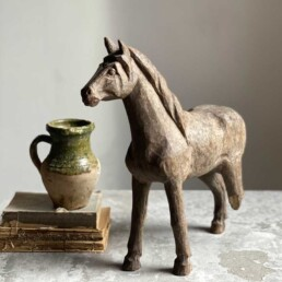 ANTIQUE TIMBER MODEL HORSE | GEORGE