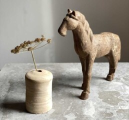 ANTIQUE TIMBER MODEL HORSE | FREDDIE