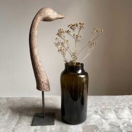 Antique carved model | Swan head