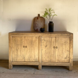 Pale reclaimed timber cupboard | Edward