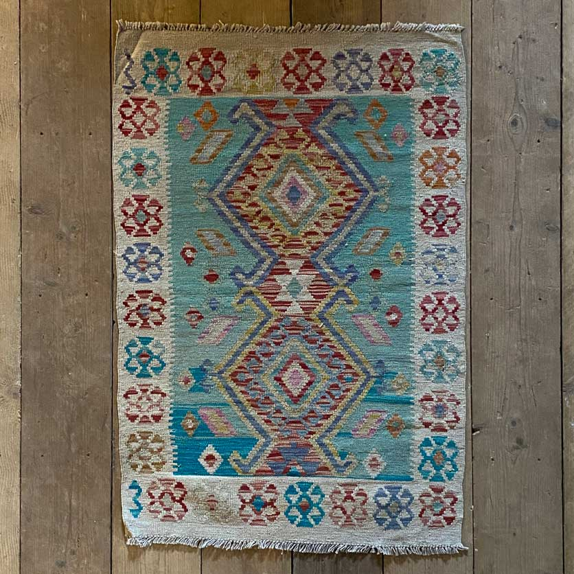Handwoven Kilim rug | Gina 128 x 85 cm
