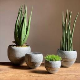 Decorative distressed tin bowl | Medium