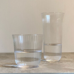 Fluted Glass Tumbler | Small