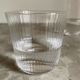 Fluted Glass Tumbler   Small