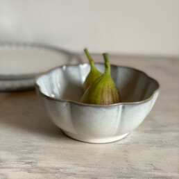 Fluted Bowl White | 15cm