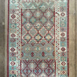 Handwoven Kilim rug | Hardy 256 x 173 cm